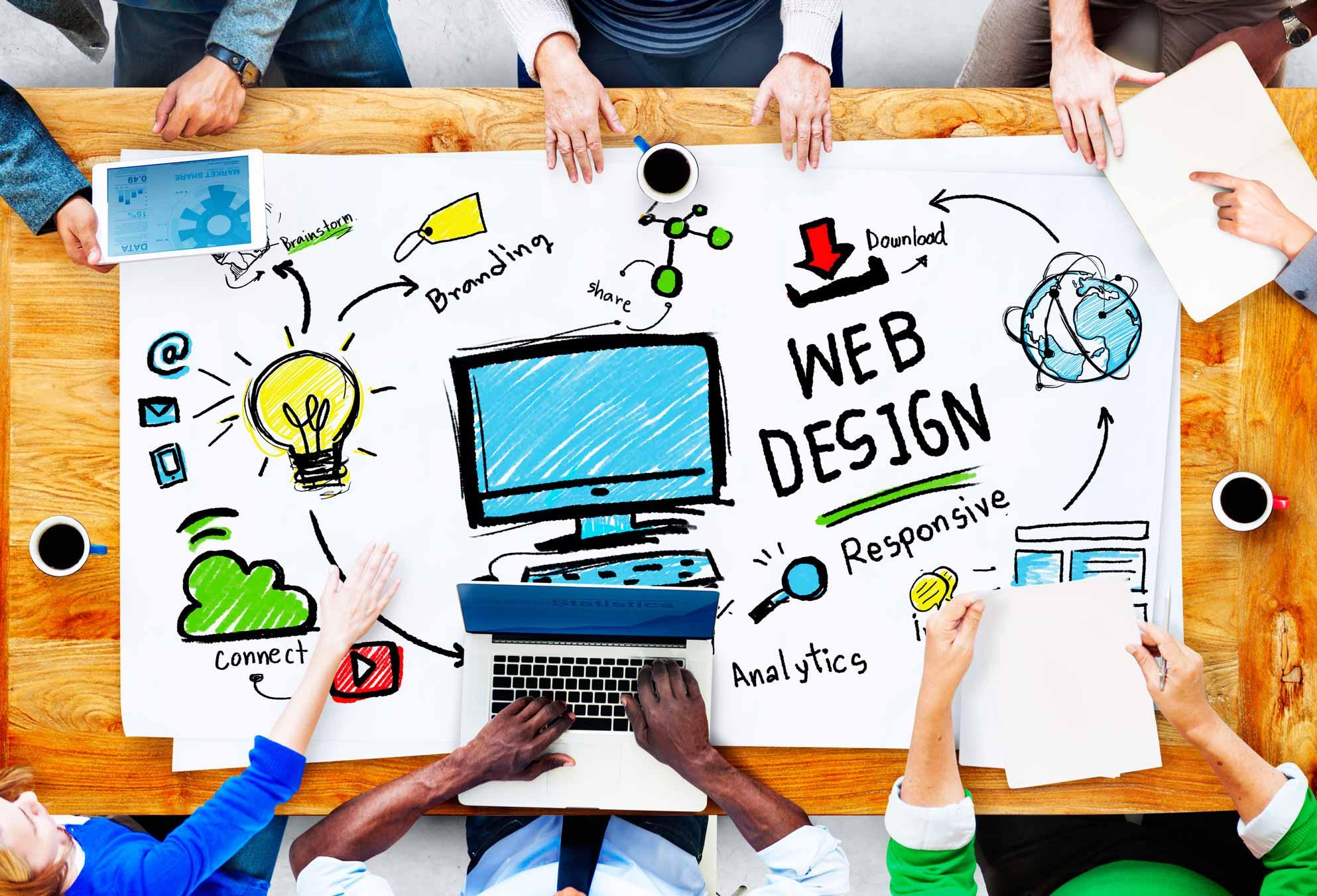 design d'un site web et ses sources d'inspiration